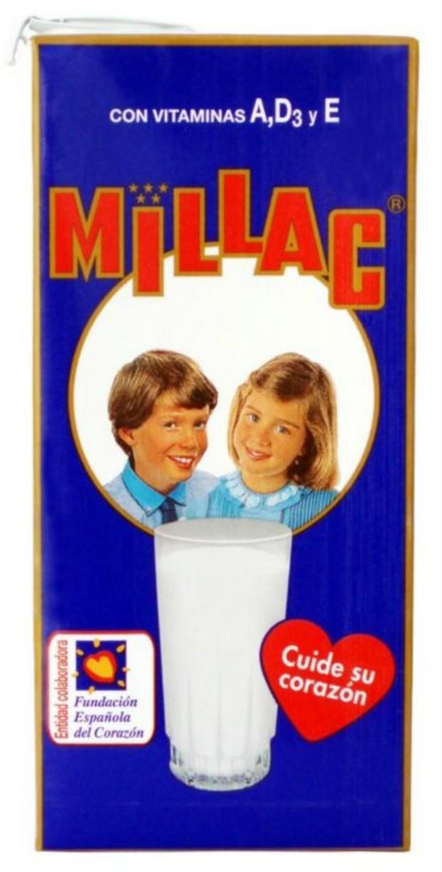 Leche. Leche con extra Calcio marca Millac