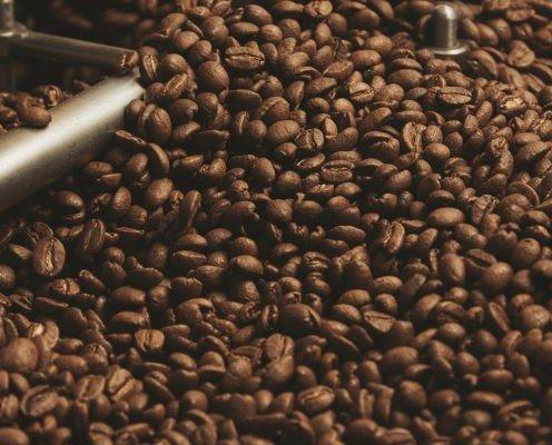 Café tostado. Tostado en las mejores instalaciones