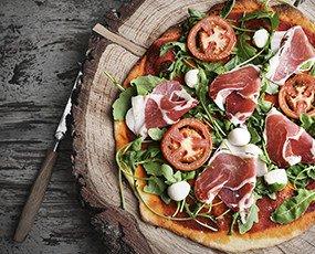 Masa de pizza. Nuestras deliciosas masa de pizza congeladas