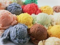 Variedad de helados