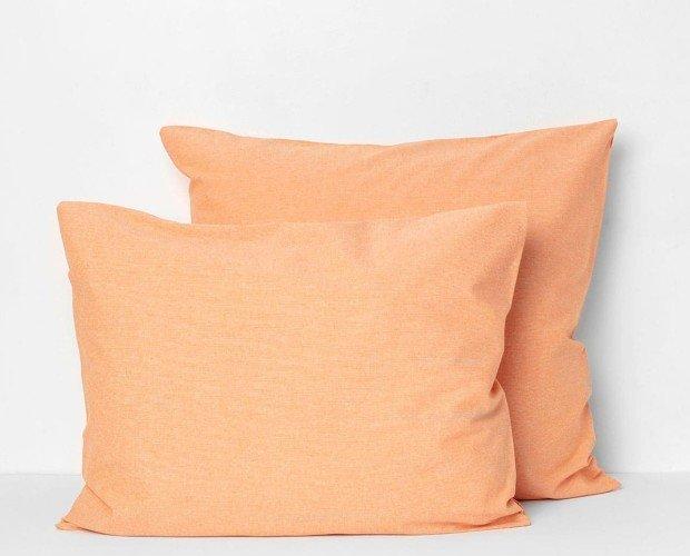 Tula Tangerina. 50% algodón reciclado y 50% algodón orgánico.