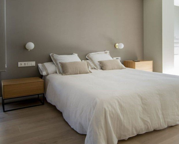 Funda Duvet Blanca. 60% lino europeo, 20% algodón reciclado y 20% algodón orgánico.