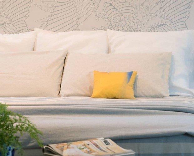 Almohada de artista Juniper. Fabricado con bajo impacto ambiental