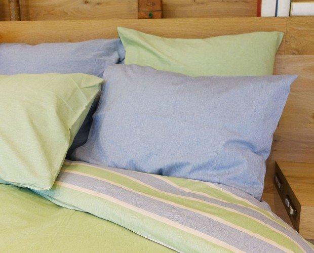 Almohada colo lima. Colores naturales