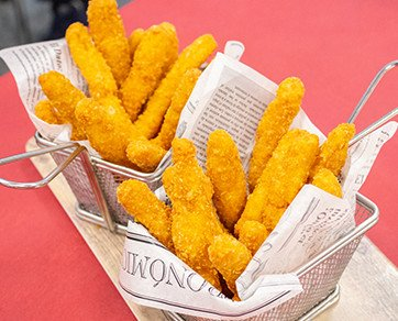 FINGUERS DE POLLO. Fingers de pollo congelados
