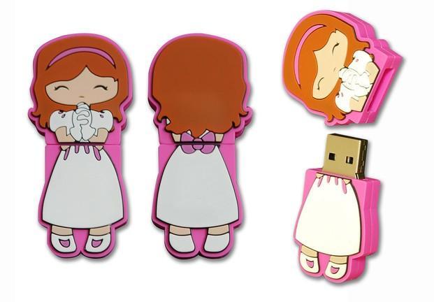 Memoria USB Niña. Detalle comunión