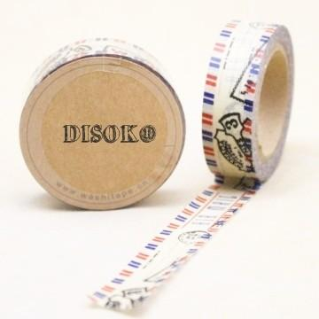 Washi Tape. Cinta adhesiva