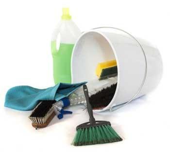 Productos y útiles de limpieza. Productos de limpieza ecológicos