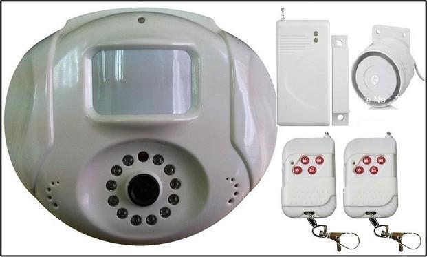 Alarmas. Alarmas inalámbricas con cámaras nocturnas