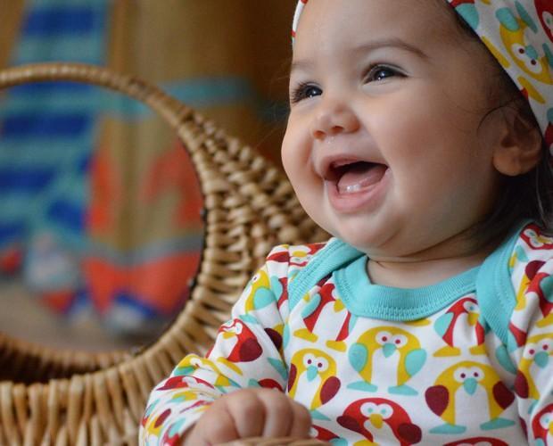 Ropa Ecológica para Bebé.Body Pingüinos Boreales en algodón orgánico.