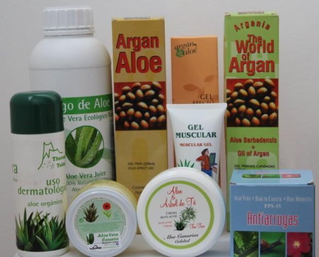 Productos para Salud. En base a aloe