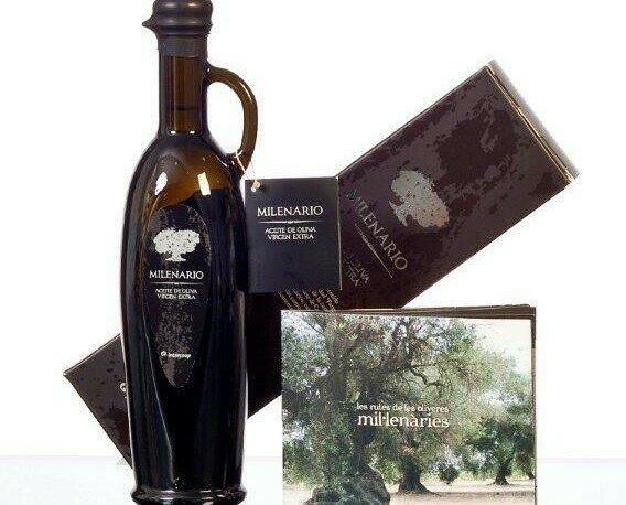 Aceite de oliva milenario. Aceite de oliva milenario de 500 ml.