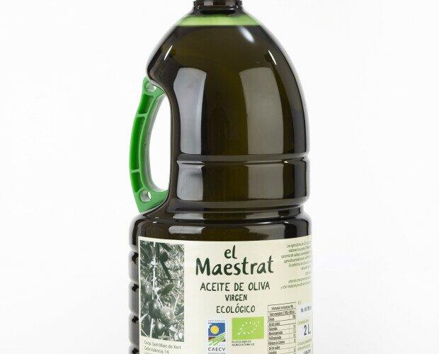 Aceite de oliva virgen ecológico. Aceite de oliva virgen ecológico de 2 l.