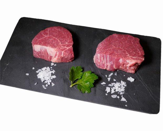 Solomillo de ternera. Esta carne es muy tierna y muy jugosa