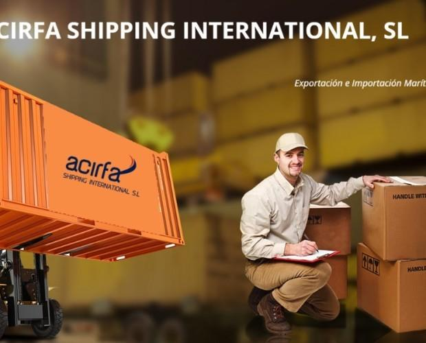 International shipping. Trabajamos en todo el mundo