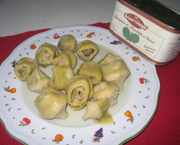 Conservas de alcachofas. Simplemente deliciosas
