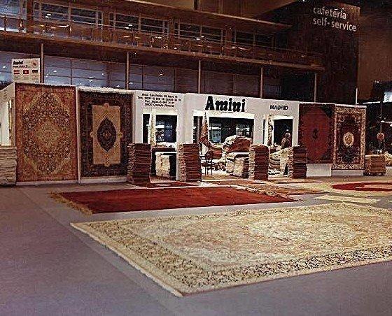 Exposición de alfombras. Para grandes ambientes