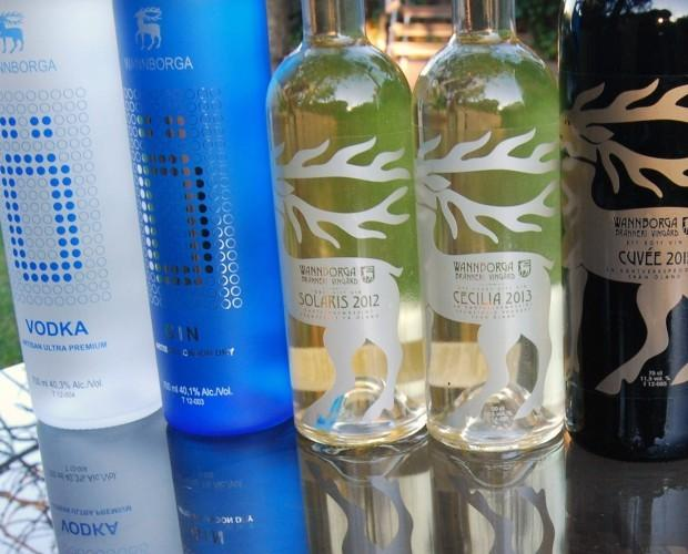 Licores Ecológicos. Vodka Ecológico. Productos Wannborga