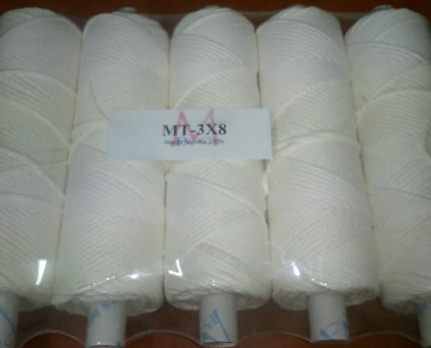 Productos de Mercería. Cintas, Cuerdas y Cordones. Mecha Trenzada de Algodón 100%.