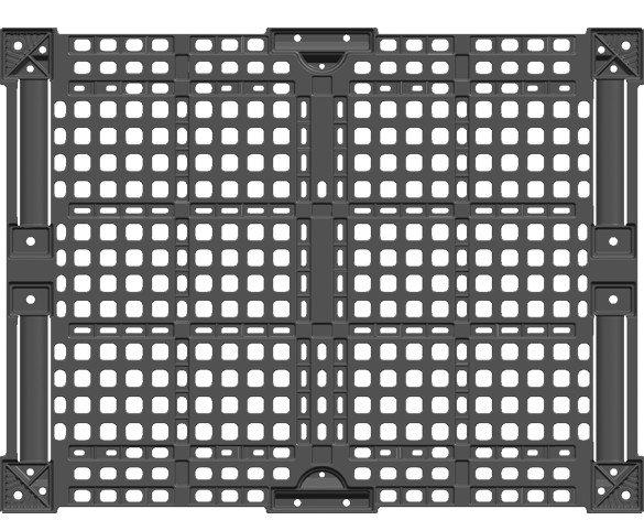 Palets.Diseñados con polipropileno 100% reciclado