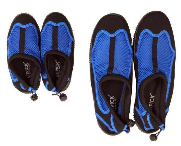 Escarpines adulto y niño. Lote de escarpines (zapatillas acuáticas) marca Atipick para adultos y niños.