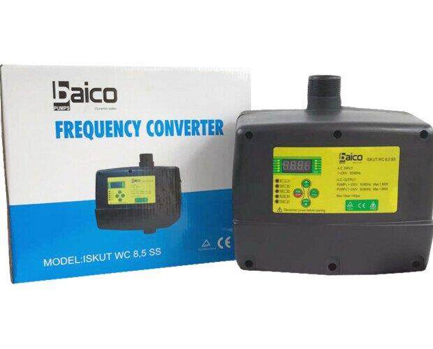 Variador de frecuencia. Variador de frecuencia refrigerado por agua modelo ISKUT WC 8,5 SS marca Baico Pumps