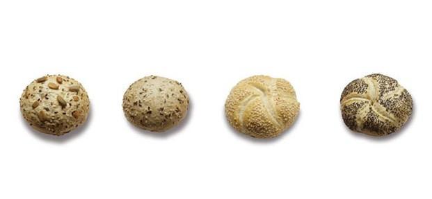 Panes Especiales.Variedad de panecillos precocidos