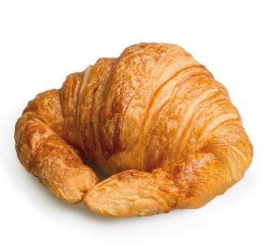 Croissant artesano. Exquisito croissant artesano