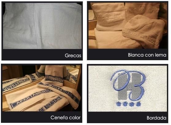 Toallas de algodón. Variedad de tamaños y gramajes, personalizables
