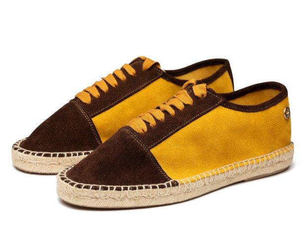 ALPARGATAS BLUCHER. Alpargatas sneakers con cordones piso de yute.