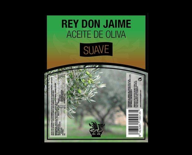 Aceite de Oliva Suave. Elaborado enriqueciendo Aceite de Oliva refinado con AOVE