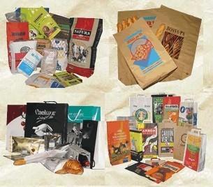 Bolsas en Papel. Bolsas en Papel, Envase, Packaging, Embalaje