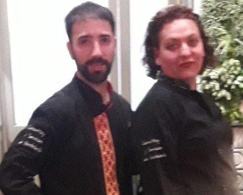Gema y Edu. Nuestro Chef y nuestra consultora