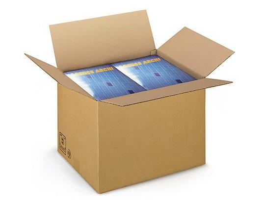 Cajas.Diversidad de tamaños y modelos de cajas