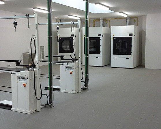 Proyectos de lavanderías. Aprovechamos el espacio al máximo