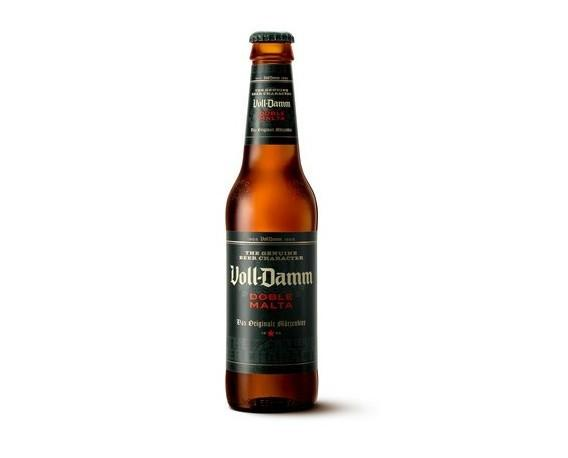 Variedades cerveza. Voll-Damm Doble Malta