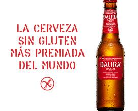 Daura Damm. Cerveza sin Gluten