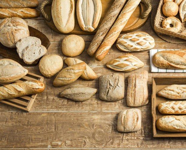 Bodegón. Variedad de panes