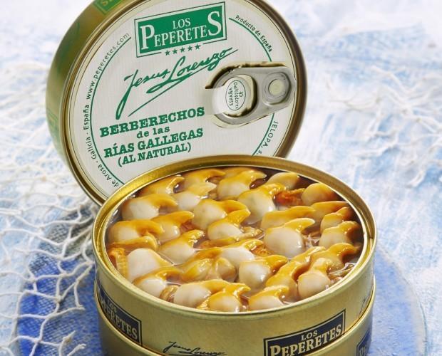 Conservas de Marisco.Conservas gourmet de marisco