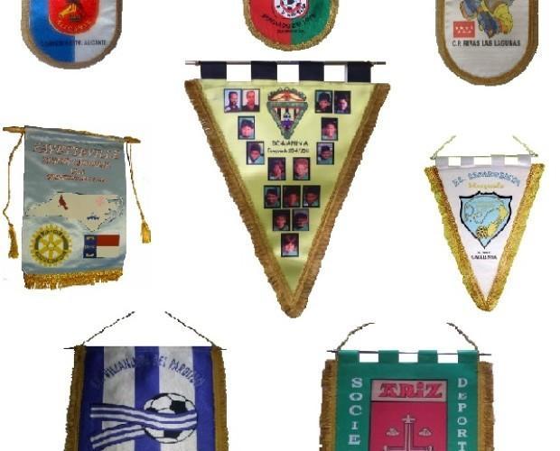 Souvenirs Deportivos.Banderines de cualquier diseño y color