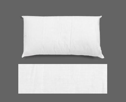 Almohadas para Hostelería. Relleno de fibra de poliéster hueco siliconado