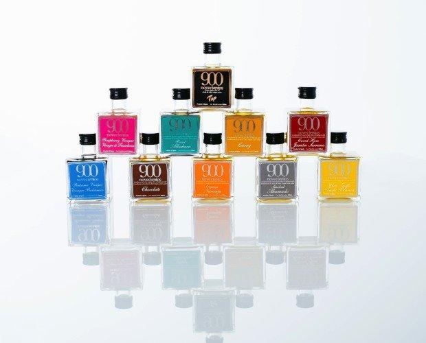 Aove aromatizados. Aceites de oliva Virgen Extra aromatizados 5 sabores