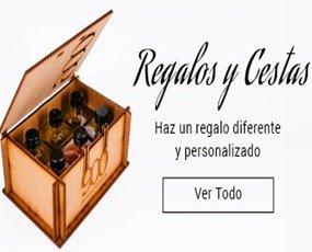 Caja de Regalos. Cajas con  Aceites aromatizados