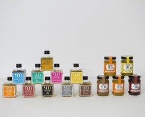 Aromatizados y Jalea. Aromatizados y Jaleas Dulces de distintos sabores