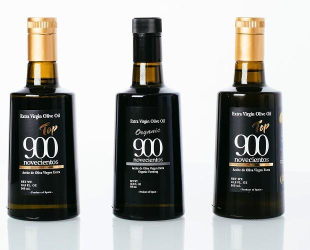 Aceite de Oliva Ecológico. Aceite de oliva virgen extra 900 Top.