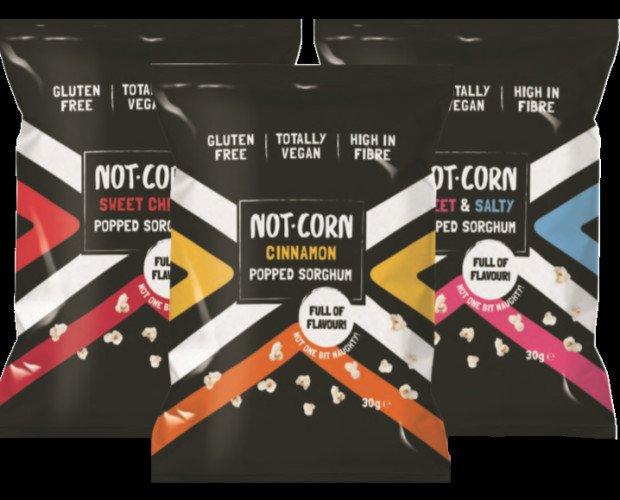 NotCorn. Snack de sorgo sin gluten, vegano