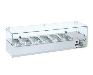 Refrigeradores de ingredientes. Capacidad para cubetas GN-1/3 de 150