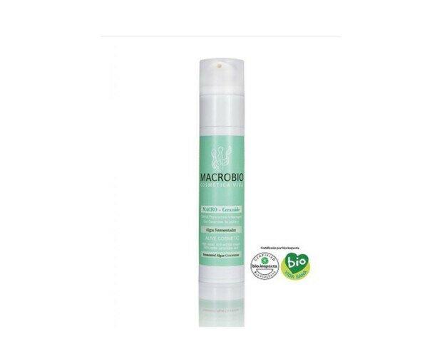 Reparador Antiarrugas. Ceramidas de jojoba y algas fermentadas antioxidantes, antiedad y remineralizantes