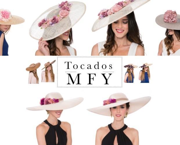 Sombreros.Pamelas personalizadas Tocados MFY