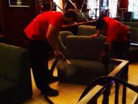 Limpieza y desinfección de sofa